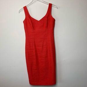 DKNY Salmon Sheath Dress Size 2